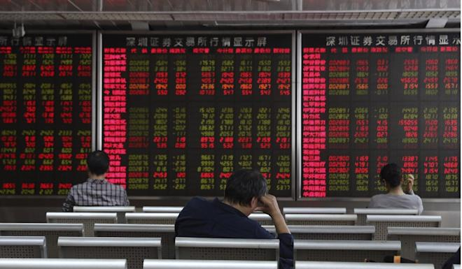 China's stock market crash in 2015 wiped out US$5 trillion in value. Photo: AP Photo