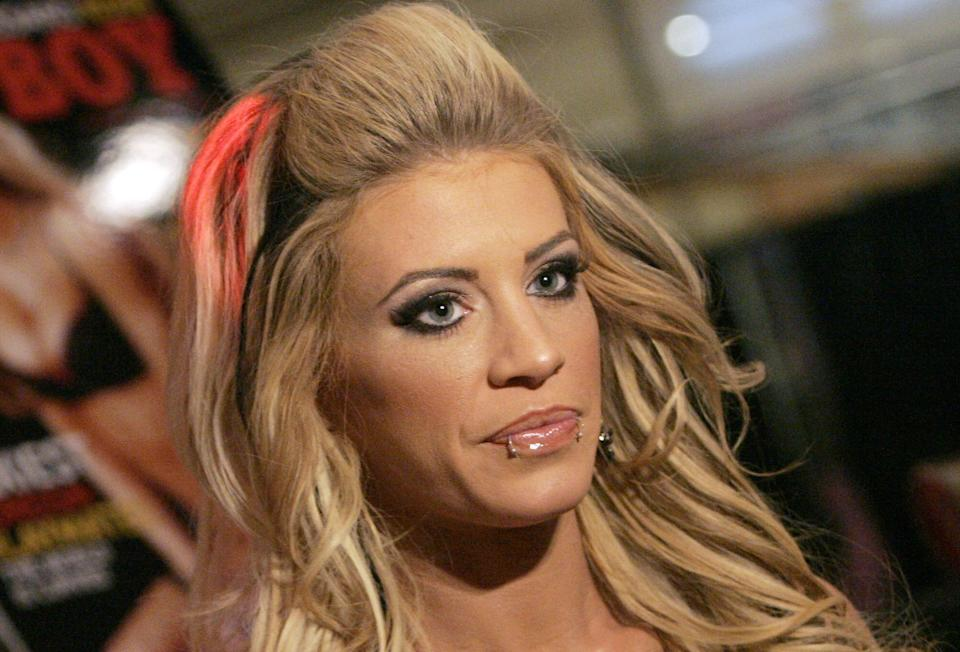 """Former WWE star and """"Survivor"""" contestant Ashley Massaro died on May 16, 2019. She was 39."""
