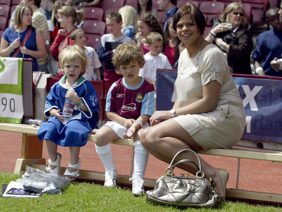 Bobby Jack, Freddie and Jade Goody (Photo by Danny Martindale/FilmMagic)