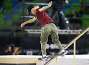 "<p><em>Above: Nishimura competes in the finals of the Street League Skateboarding World Championship in 2019</em></p> <p><strong>POPSUGAR: What's it like to be crushing it at a sport that statistically more men participate in? Have you ever experienced any sort of sexism during your career?</strong></p> <div class=""pullquote-container""><blockquote class=""pullquote"">""I think our society is changing slowly and starting to realize that we're doing this, but there's always the occasional person who's a kook.""</blockquote></div> <p><strong>Armanto:</strong> I had moved around a lot growing up, so when I found the skate park, I felt like I found my place and I didn't really think much of it that I was female and then [it was] mostly guys. Most of the time at the skate park, everyone's really cool. And even online, they're mostly positive comments, but every so often there's someone who wants to bash or they sometimes will say things that they don't realize are backhanded compliments. I think our society is changing slowly and starting to realize that we're doing this, but there's always the occasional person who's a kook. </p> <p>When I was going to the skate park every day, there was the occasional person that would say, ""You are pretty good for a girl,"" but most of the time I would just take it as like, I know what they're trying to say, but they don't even realize that they're being insulting. You can't police everyone. If it's the right situation to maybe say something about it, then I would do it. But in general, you can't fix everything all at once. You just can take one thing at a time.</p> <p><strong>Steamer:</strong> I can't put a name to the feeling. It just feels good to be involved and have an impact and a reach on people. It feels good to achieve what I've achieved in skateboarding, but it also just feels good to be able to achieve what I've achieved as [someone who's] not the norm. </p> <p>I've definitely experienced discrimination on social media, I've experienced discrimination in our industry, I've experienced unequal pay in our industry, I've experience many hate crimes in our industry, in the world, all sorts of stuff. I mean, I've lived a long life already . . . People should just do them and not spend time worrying about what other people are doing. But at the same time, I understand how people's hate and negativity can fuel people in a positive way.</p> <p><strong>Nishimura:</strong> Yes, skateboarding does have a male-dominant image, but I'd like for people to know that you don't have to be a guy to enjoy skateboarding. Even girls can enjoy it. Skateboarding is for everyone, whether you're a guy or girl. So hopefully I can get that message out. If you put enough effort into it, you can compete in these big contests. You can be successful as long as you can commit to it and put your mind into it. Hopefully I can change that image [and teach others that] skateboarding is for everyone in the future.</p>"