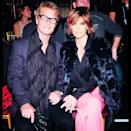"""<p>The actress posted a pic of her and hubby Harry Hamlin sitting in the front row as they <span>supported their daughter</span>, Delilah, at New York Fashion Week. """"My Love, My Everything. My Valentine,"""" she captioned it. (Photo: Instagram) </p>"""