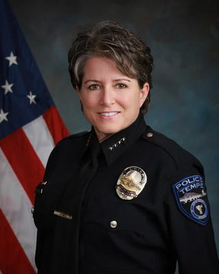 2019 Axon RISE Award for Community Commitment recipient, Sylvia Moir, Tempe PD Police Chief