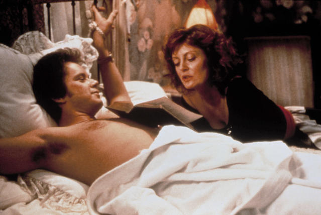 Tim Robbins and Susan Sarandon in <em>Bull Durham.</em> (Photo: Everett Collection)