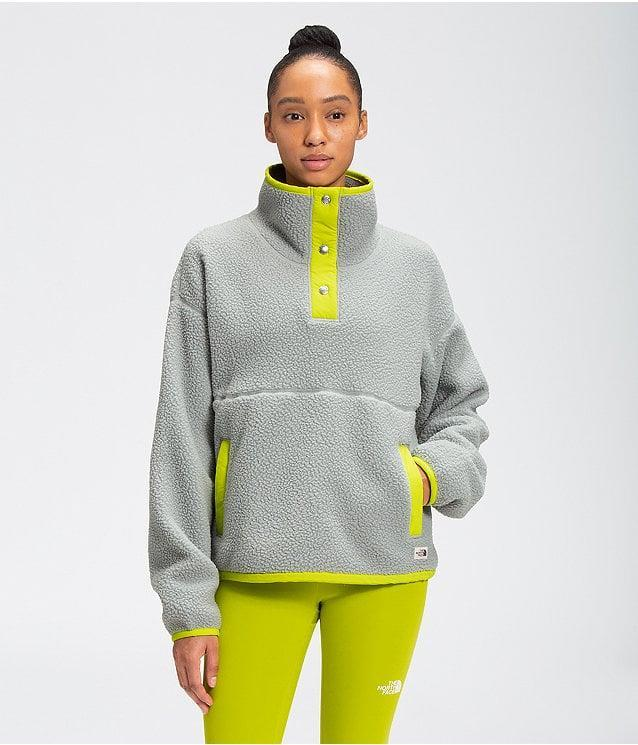 <p><span>The North Face Cragmont Fleece ¼ Snap</span> ($139)</p>