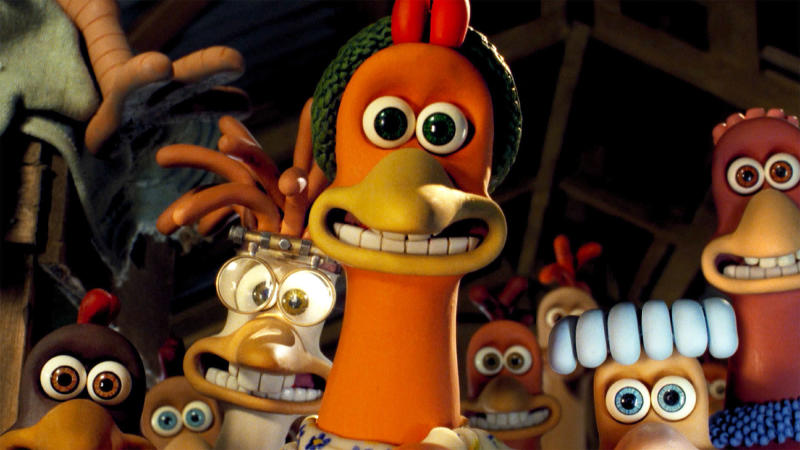 Julia Sawalha provided the voice for lead chicken Ginger in Aardman's classic animation 'Chicken Run'. (Credit: Aardman/Dreamworks/Pathé)