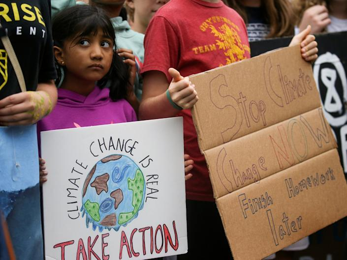 climate rally washington student september 2019