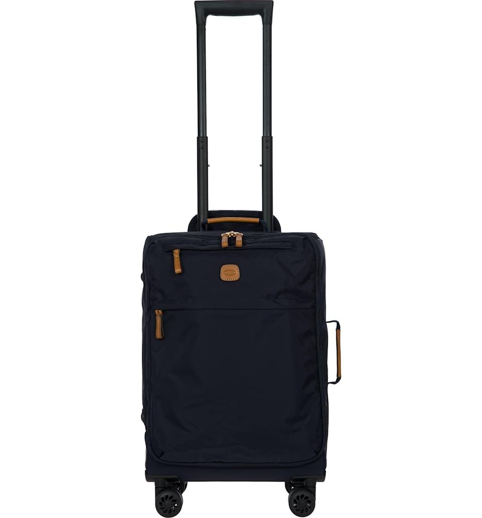 <p>This light, breezy <span>Bric's X-Bag 21-Inch Spinner Carry-On</span> ($199) weighs only 5.5 pounds. It's great for quick weekend getaways or weeklong trips to the beach, you name it.</p>