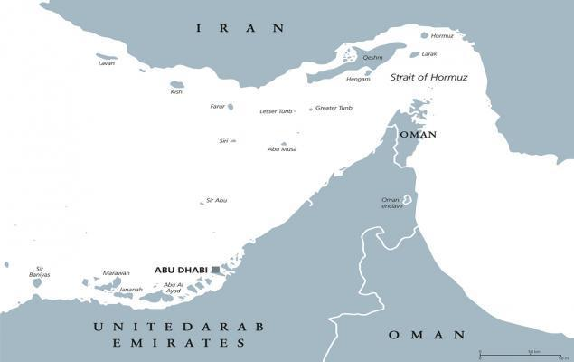 Oil prices jump as tensions between the West and Iran heat up after the latter seized two tankers in the Strait of Hormuz.