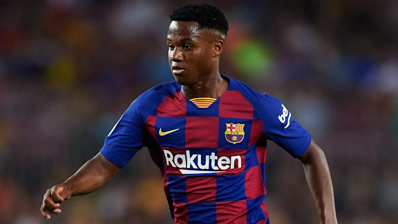 Barcelona hike Fati's release clause in new deal