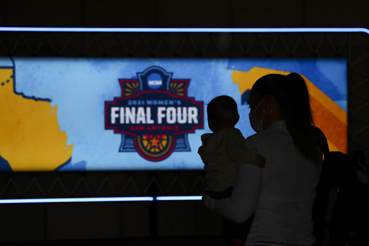 How can the NCAA claim to care about its female athletes and still allow a state like Texas, which this week had an anti-abortion law go into effect, to profit off its competition? (Photo by C. Morgan Engel/NCAA Photos via Getty Images)