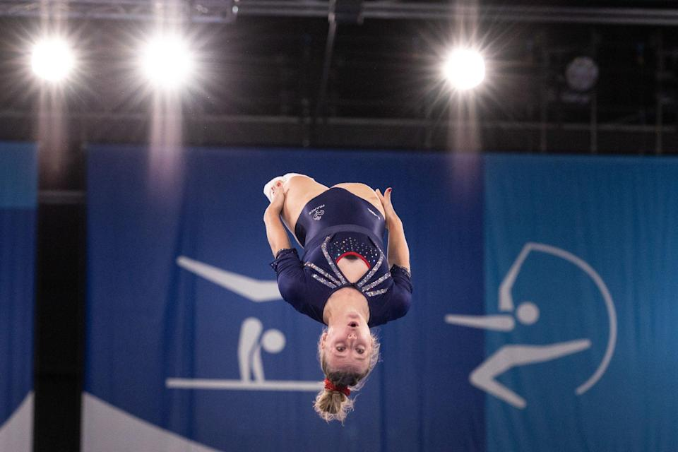 <p>Lea Labrousse, who was competing for France, got some major air on Friday.</p>