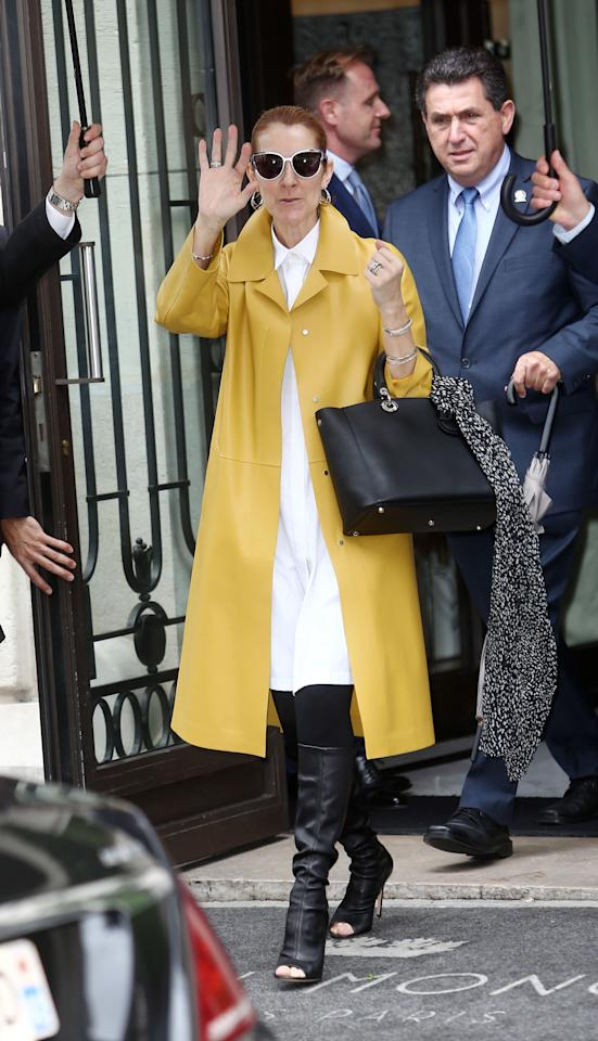 """<p>Dion is releasing a <a rel=""""nofollow"""" href=""""http://www.goodhousekeeping.com/beauty/news/a38921/celine-dion-clothing-line/"""">wide-ranging lifestyle line</a>, including clothing, accessories, beauty and home furnishings. The line is unnamed for now — they're calling it """"Céline Dion"""" as a placeholder, according to <em><a rel=""""nofollow"""" href=""""http://www.billboard.com/articles/news/7400409/celine-dion-launching-lifestyle-product-brand"""">Billboard</a> — </em>and will debut next fall. <span></span></p>"""