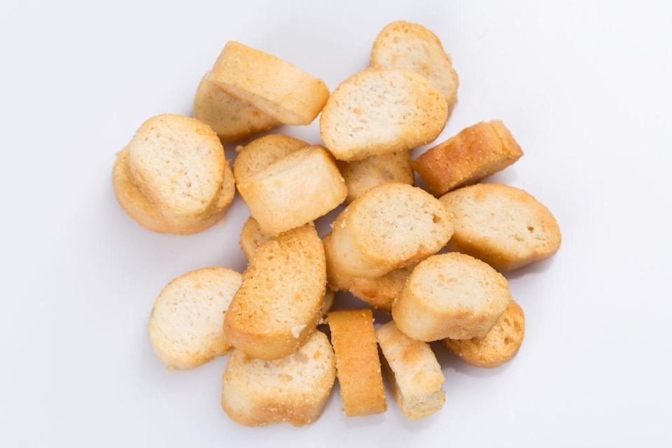 <p>Stale white bread with seasonings, need we say more?</p>