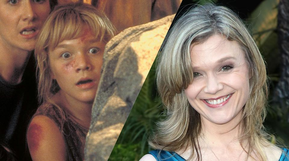 Ariana Richards then and now (credit: Universal)