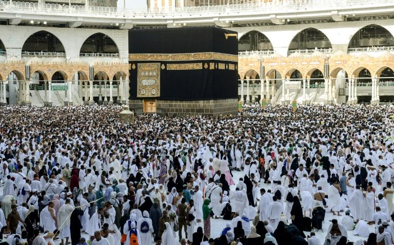 Last year's full-scale hajj drew about 2.5 million pilgrims to Saudi Arabia which is home to Mecca and Medina, Islam's holiest sites (AFP Photo/FETHI BELAID)