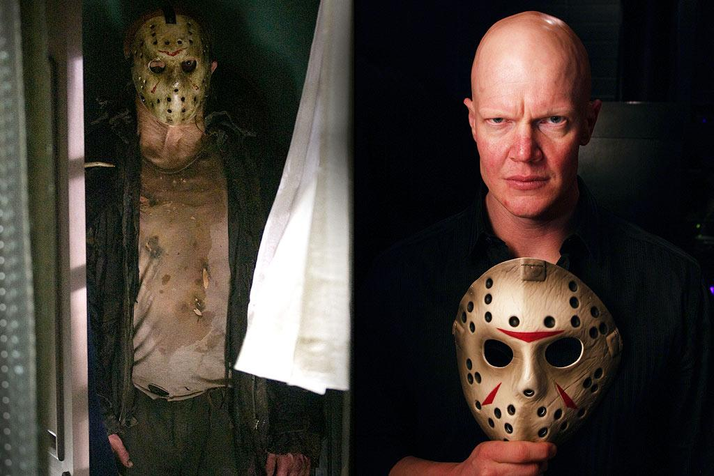 "JASON VOORHEES  ACTOR: <a href=""http://movies.yahoo.com/movie/contributor/1809096844"">Derek Mears</a>  MOVIE: <a href=""http://movies.yahoo.com/movie/1810022022/info"">Friday the 13th</a> (2009)   The costume for Jason Voorhees might seem to be a relatively simple affair -- a machete, a hockey mask, and some fake blood should pretty much cover it. Yet Derek Mears, who plays the slasher in the most recent installment of the franchise, spent three and a half hours in the makeup chair to get himself into full Jason mode."