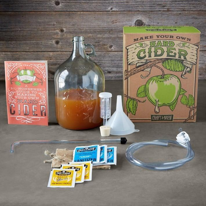 <p>Get him the <span>Hard Cider Brewing Kit</span> ($45) to create his own cocktails. </p>