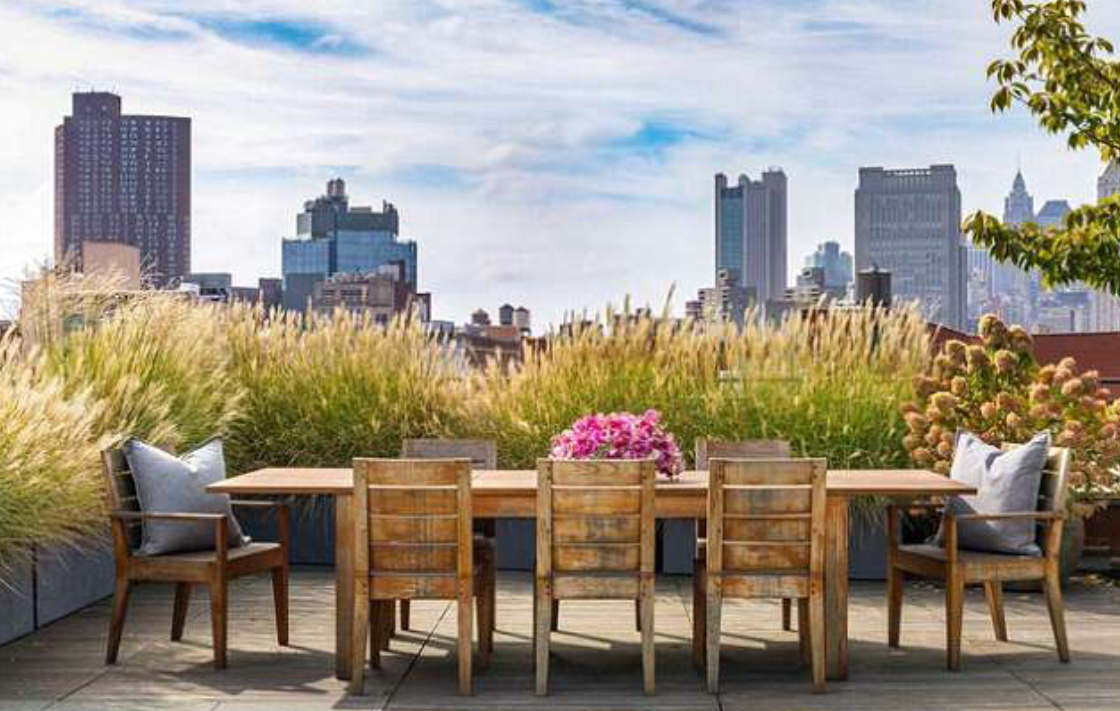 <p>This 2,610 square-foot penthouse is situated in New York City's funky downtown neighbourhood of Nolita. They will now be able to enjoy alfresco dining on their 1,800 square-foot outdoor terrace. Source: Douglas Elliman </p>