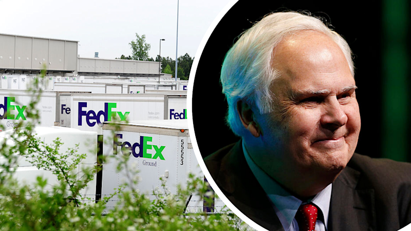 FedEx CEO Frederick Smith gambled the company's last US$5,000 to save it from bankruptcy. Source: Getty