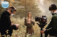 "<p>The video opens with a shot of Katelyn alone in the woods. ""That trip to Jackson Hole is one that we will never forget,"" she says.</p>"