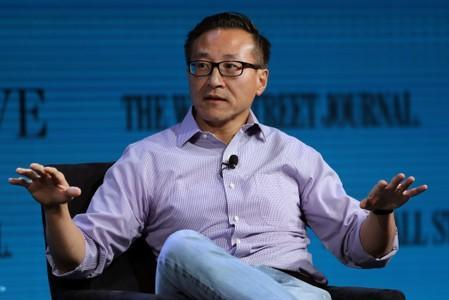 FILE PHOTO: Alibaba's Tsai speaks at the WSJ Digital Conference in Laguna Beach