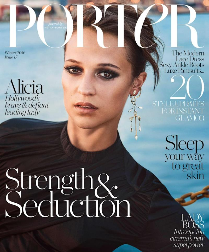 The latest issue of PORTER magazine