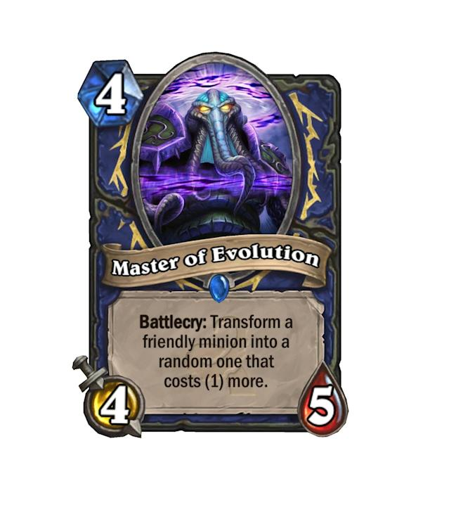 <p>Evolution is a slow, gradual process, and this Master knows that. One mana at a time, crossing your fingers that something cool will pop out.</p>