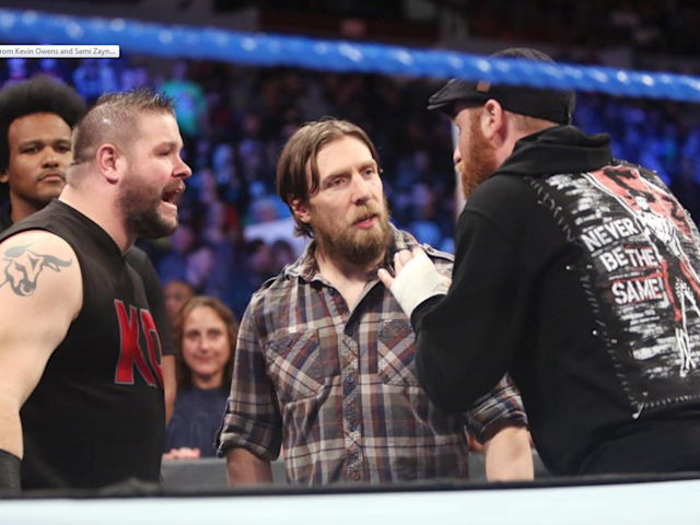 Kevin Owens and Sami Zayn are fighting for their careers: Getty