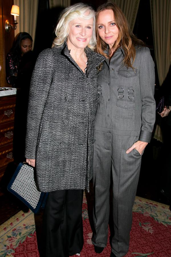 Stella McCartney had the likes of Glenn Close on her guest list ©Rex