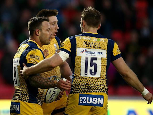 Francois Hougaard pulled one back for the visitors (Getty)