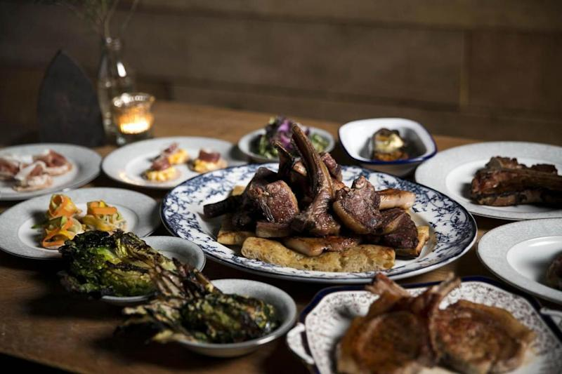 Chops in the City: Blacklock's basement is for feasting in