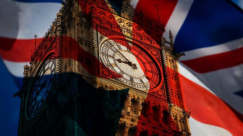 Big Ben and the Union Jack