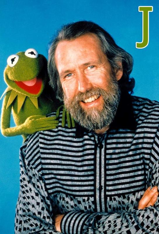 """J is for <a href=""""/jim-henson/contributor/43239"""">Jim Henson</a>: One of the most skilled puppeteers of all time, Henson was the creator of """"The Muppets"""" and force behind <a href=""""/sesame-street/show/33526"""">""""Sesame Street.""""</a> Henson performed the characters of Kermit, Ernie, and game-show host Guy Smiley. Before his sudden death in 1990, Henson founded the Jim Henson Foundation to promote and develop the art of puppetry in the United States. His children continue his legacy in creative projects and philanthropy. <a href=""""http://www.zap2it.com/"""" rel=""""nofollow"""">Source: Zap2it</a>"""