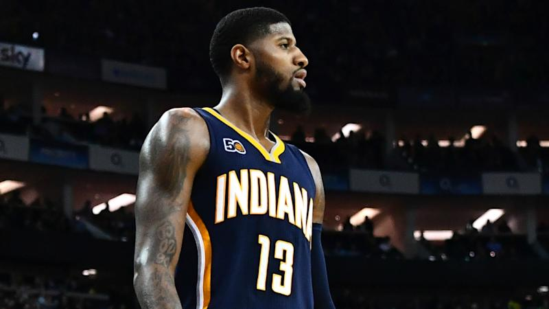 Paul George Briefly Lakers Rumors With Jimmy Kimmel