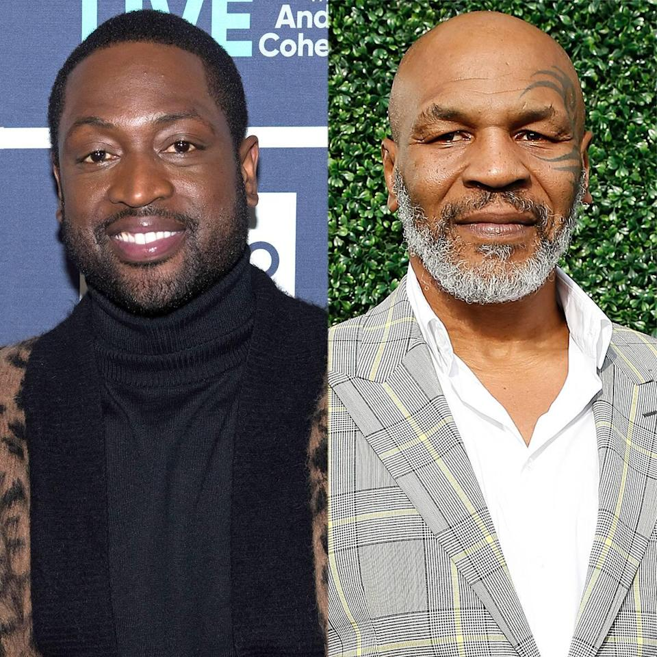 """Dwyane Wade """"Appreciated"""" Mike Tyson Defending Daughter Zaya From Transphobic Comments"""
