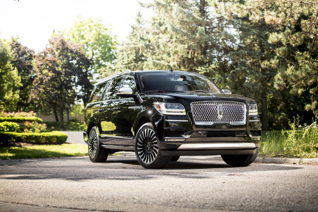 2018 Lincoln Navigator (Credit: Lincoln)