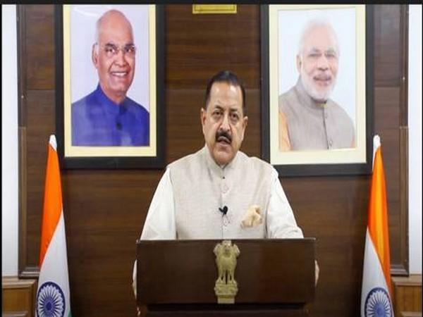 Union Minister Dr Jitendra Singh during UNGA Special Session.