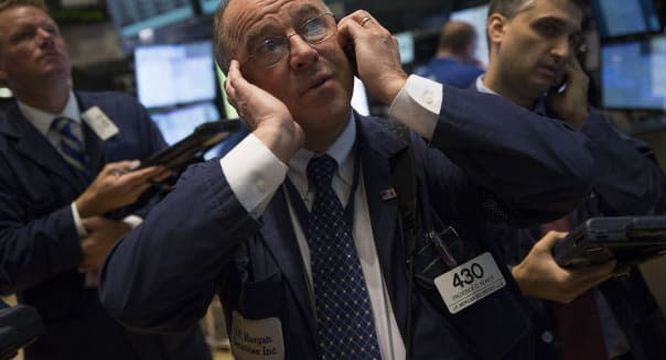 World Leaders Visit The NYSE As Stocks Fluctuate