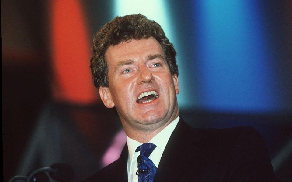 Peter Ainsworth at the 2000 Conservative Party conference in Bournemouth - Nils Jorgensen/Shutterstock