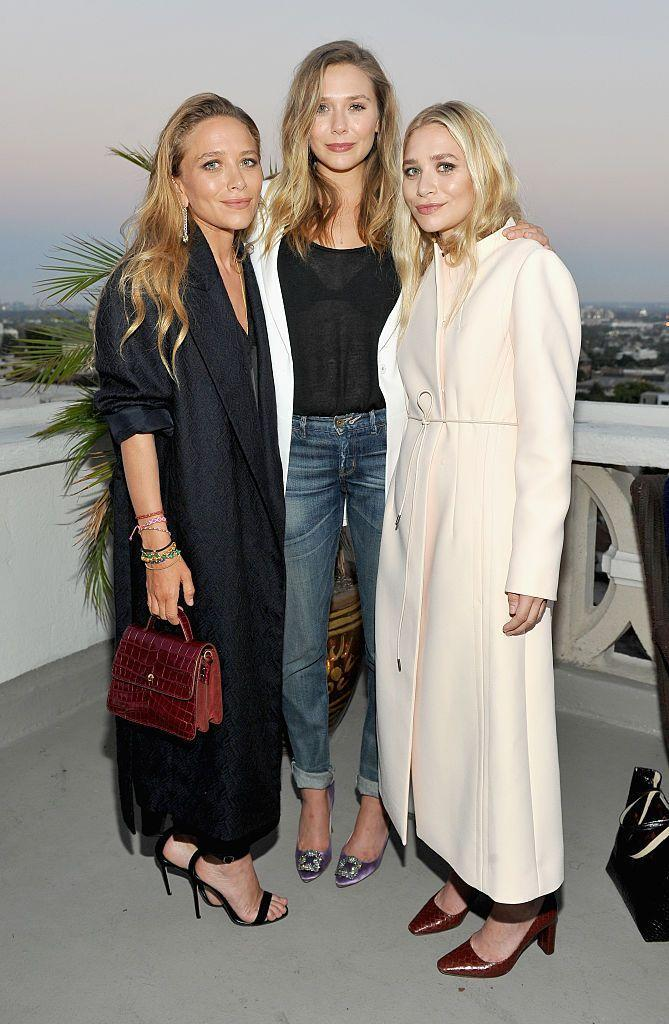 <p>We all know that Mary Kate and Ashley are twins, but people (okay, *I*) often forget that <em>Avengers </em>star Elizabeth Olsen is actually a member of the Olsen sisters, too. </p>