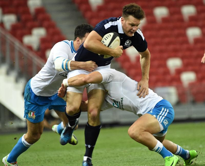 Scotland and Saracens star Duncan Taylor has been ruled out for the season