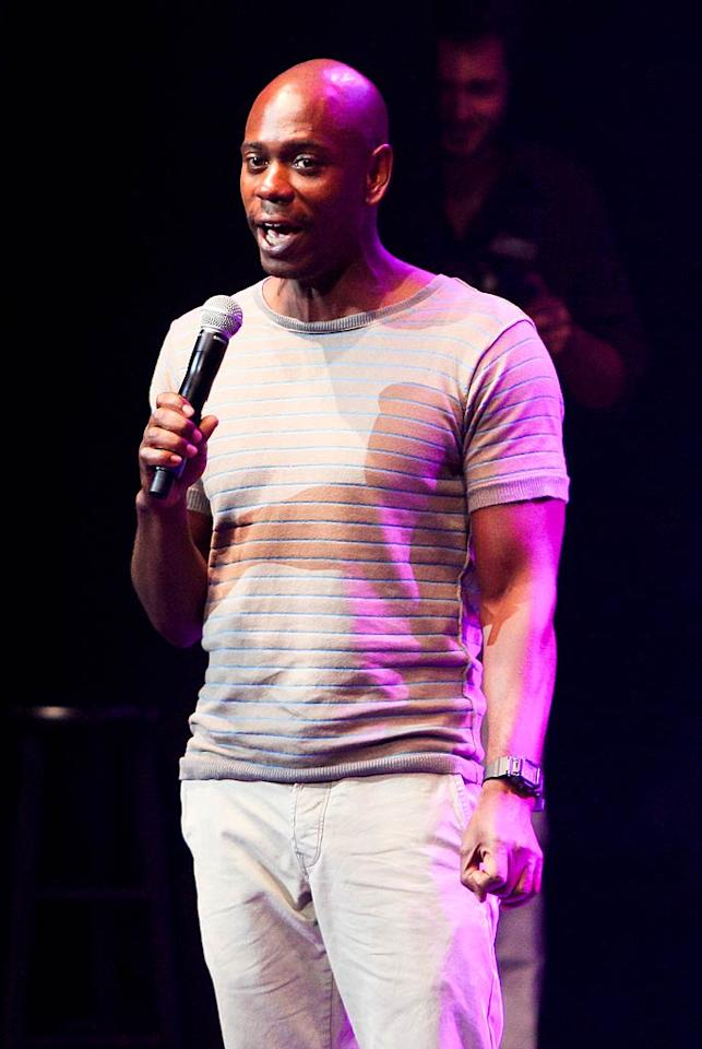 "Dave Chappelle turns 38. John Parra/<a href=""http://www.gettyimages.com/"" target=""new"">GettyImages.com</a> - July 23, 2011"