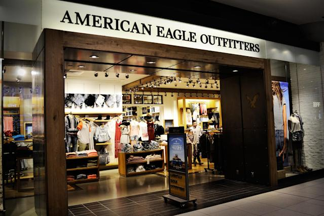 <p><strong>Top shopping websites</strong><br>No. 3: American Eagle<br>5 per cent of teens<br>(Flickr/bargainmoose) </p>
