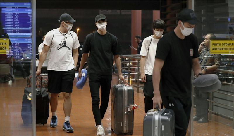 Asian Games apology: disgraced Japan basketball stars forced to show public humiliation over 'buying sex' in Jakarta