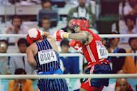"""<p>Park Si-Hun, <a href=""""https://olympics.nbcsports.com/2020/08/11/roy-jones-jr-olympic-upset-boxing/"""" rel=""""nofollow noopener"""" target=""""_blank"""" data-ylk=""""slk:the South Korean boxer who defeated American Roy Jones, Jr., to this day still wishes he had won silver"""" class=""""link rapid-noclick-resp"""">the South Korean boxer who defeated American Roy Jones, Jr., to this day still wishes he had won silver</a> instead. The result of the fight, which was decided by a 3-2 vote, remains one of the most controversial events in boxing history.</p>"""