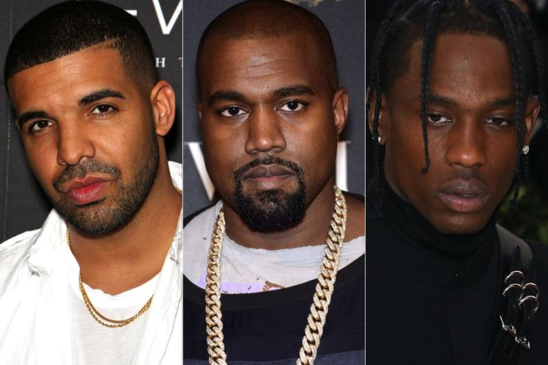 5145657cc555 Kanye West Says Drake Is Threatening Him and His Family in Explosive ...