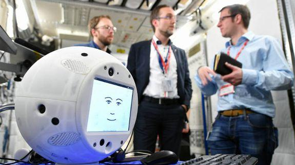 NASA, IBM and the ESA worked together to create CIMON
