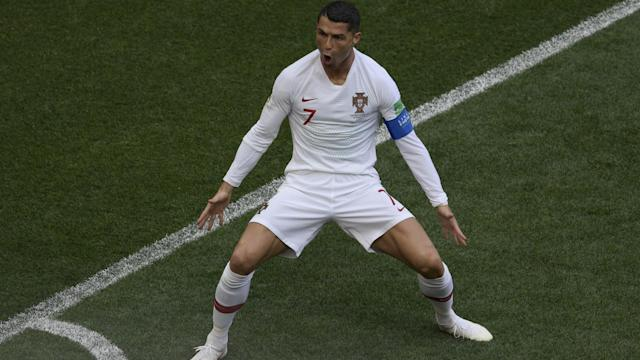 Cristiano Ronaldo scored the only goal to edge Portugal past Morocco and closer to the round of 16 at the World Cup.
