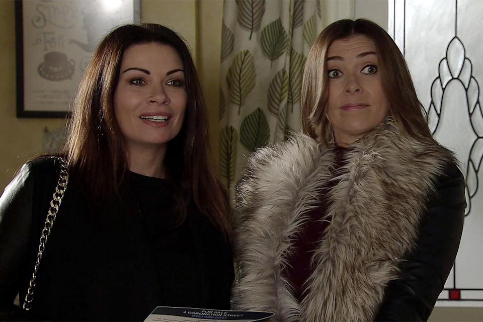Marsh has played Kym Marsh on Corrie since 2006 (ITV Pictures).