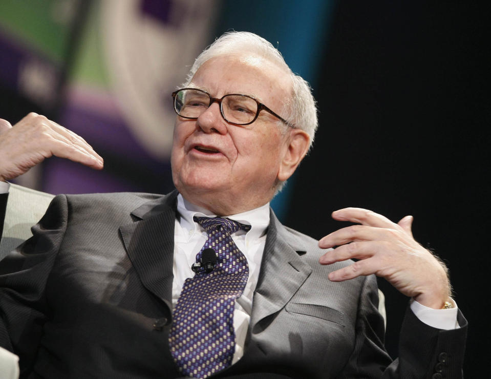 Warren Buffett on his 90th birthday on 30 August 2021. Photo: Getty